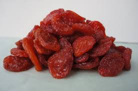 SUN-DRIED RED PLUMS 255 g