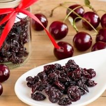 SUN-DRIED SOUR CHERRIES 180 g